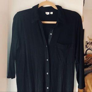 GAP Button-down midi dress